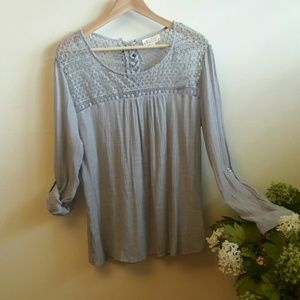 Tanzara gray blouse